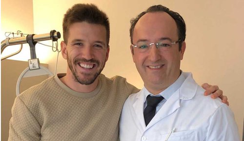 Ingacio Camacho & Prof. Valderrabano