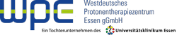Westdeutsches Protonentherapiezentrum Essen (WPE) Clinique de hadronthérapie Clinique universitaire d'Essen  - Logo