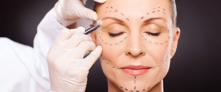 Doctors and medical centres specialising in Face lift